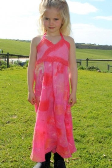Zoe's Felt Dress
