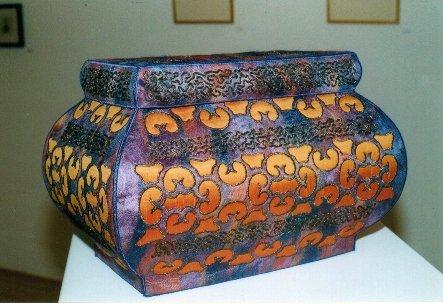 Silk Paper Vessels by Freya McKee, Victoria, Australia