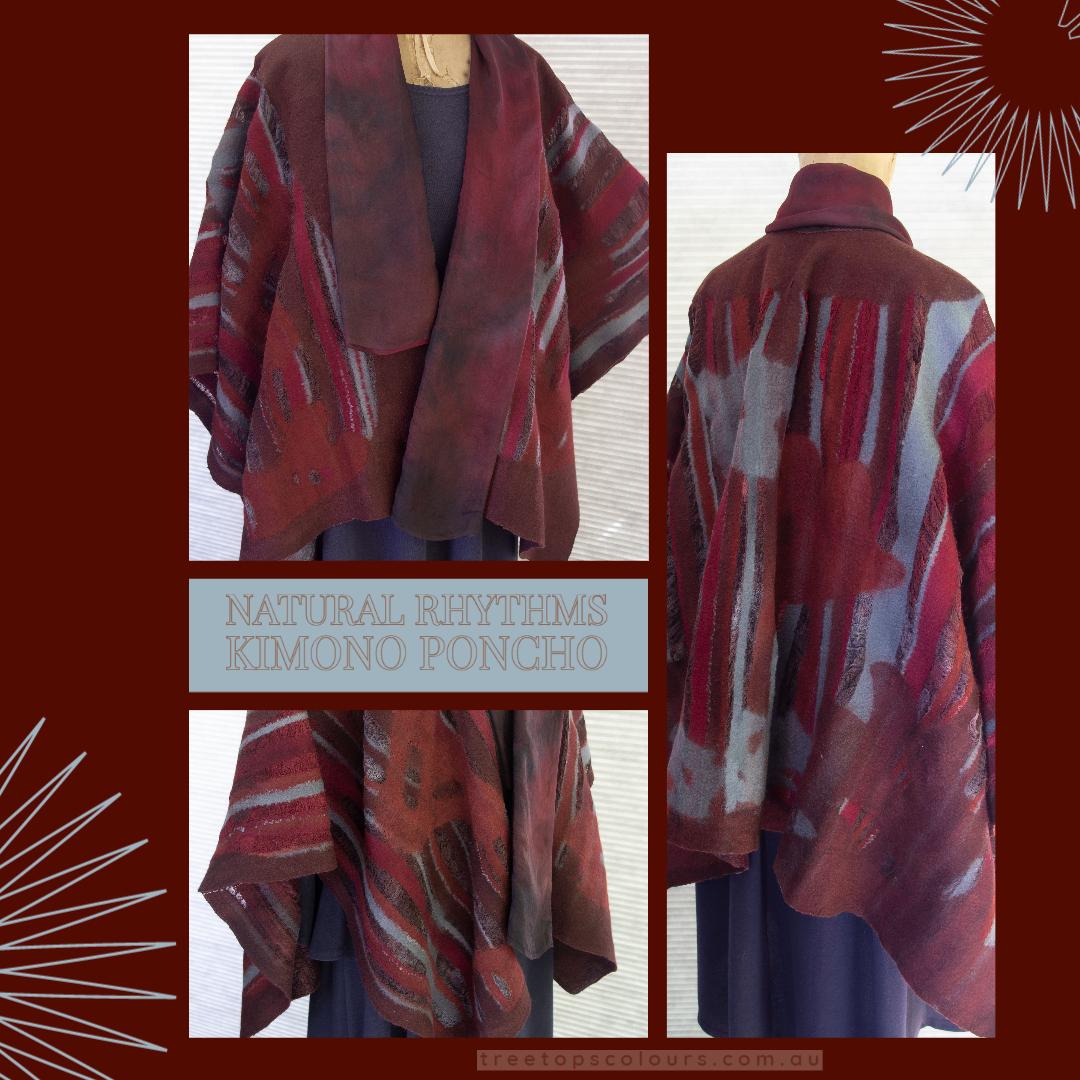 Flyer Kimono Poncho