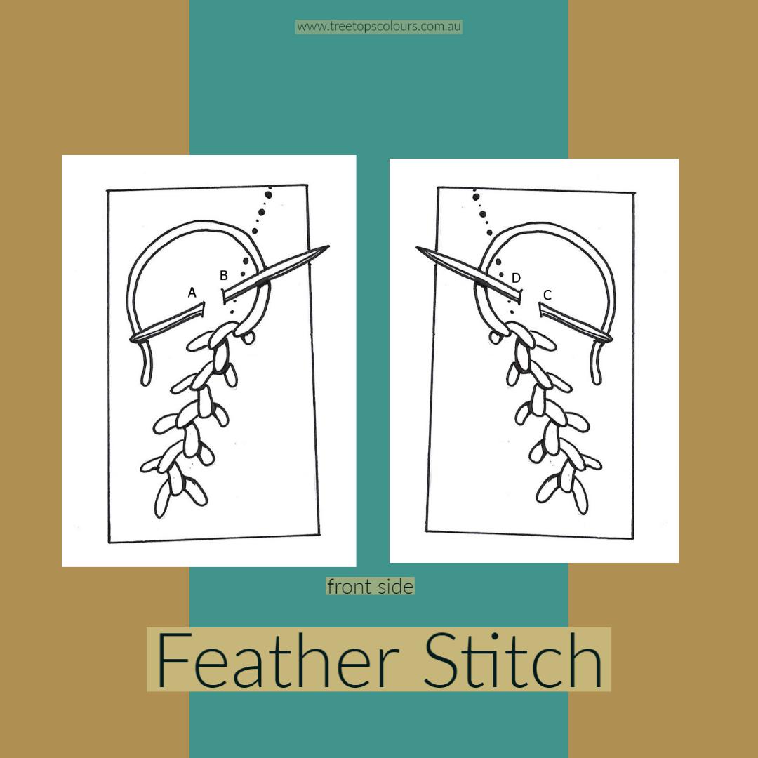 Feather Stitch Insta