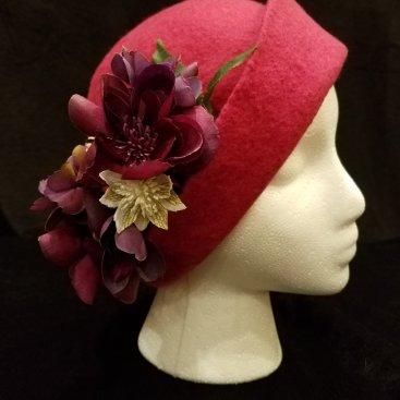 Debbie Kahn, USA – Superfine Merino Hand felted Hat